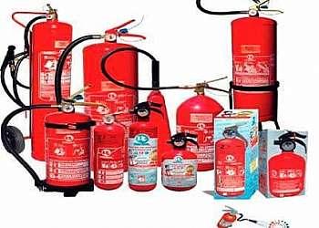 Sinalização para extintores
